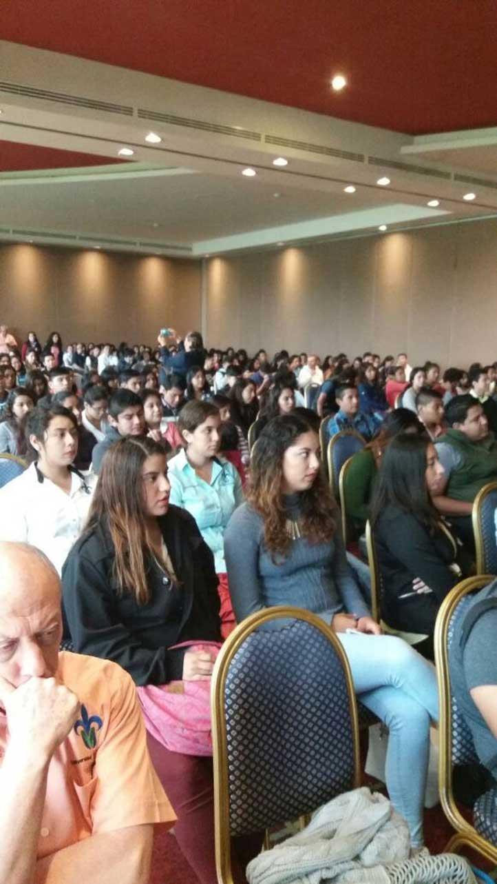 Estudiantes de la Facultad de Contaduría participaron en el Foro Universitario de Prevención de Riesgos