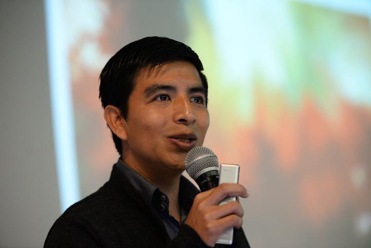 Daniel Hernández Baltazar, catedrático del Conacyt