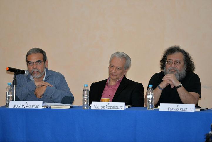 Presídium en la presentación del libro Reforma Energética en México