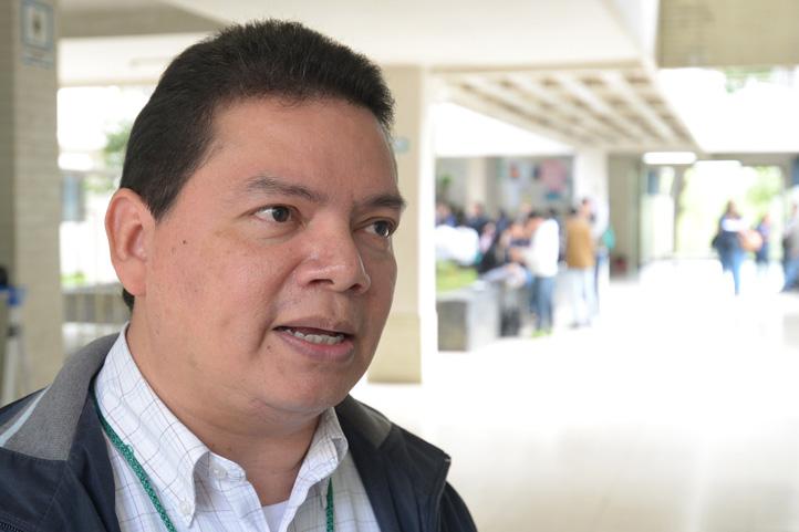 Enrique Juárez Aguilar, del Instituto de Ciencias de la Salud de la UV