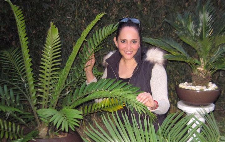Ydelia Sánchez Tinoco, titular del Laboratorio de Anatomía Vegetal, del Instituto de Investigaciones Biológicas