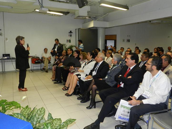 En el evento participaron rectores y directores de IES de la región Sur-Sureste del país