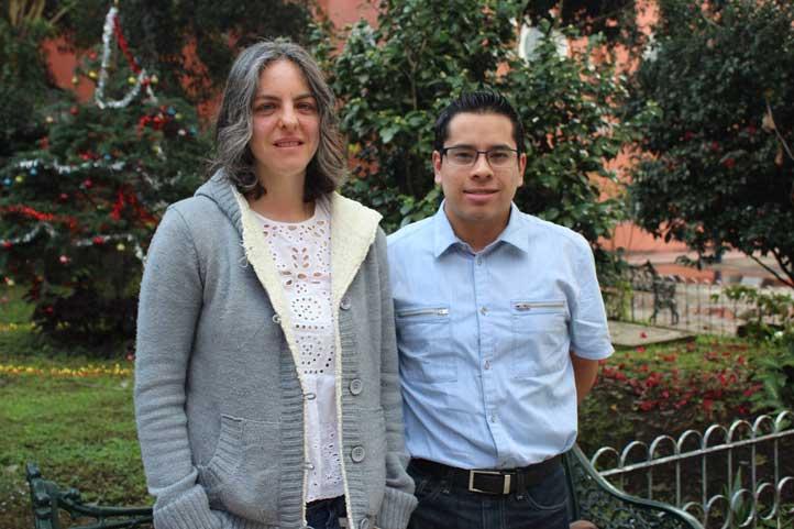 Tania Romo González y Ángel Sánchez García