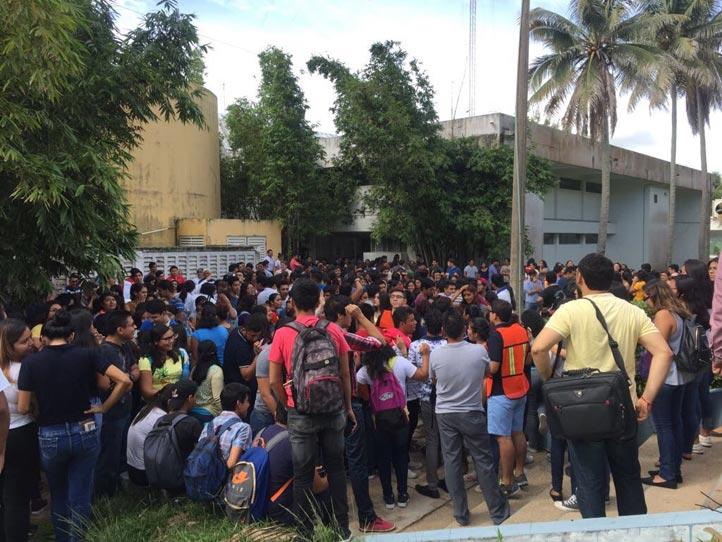 El 19 de septiembre, diversas áreas de la Universidad realizaron un simulacro de sismo