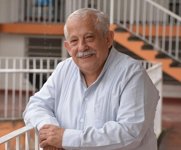 Alberto de la Rosa, director fundador del grupo Tlen Huicani