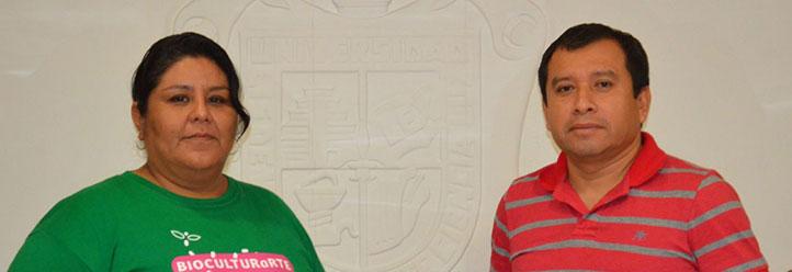 ara Itzel Arcos Barreiro y Luis Alberto Montejo Sánchez