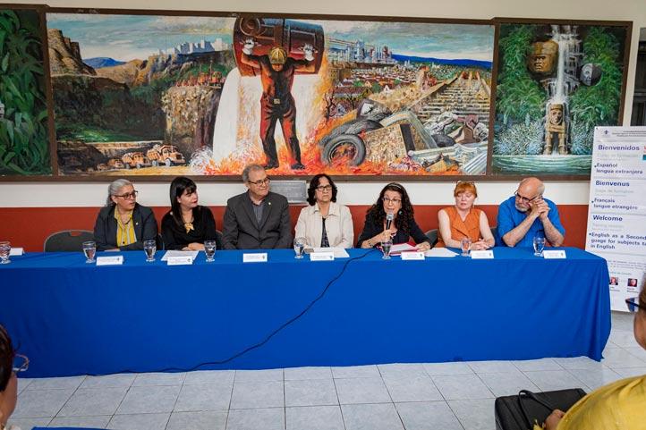 Gladys Benudiz, profesora de la Universidad de Québec, recalcó que este evento consolida la alianza de Canadá con México