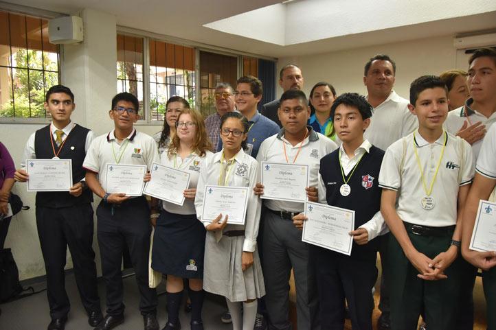Ganadores de la etapa estatal de la Olimpiada Mexicana de Matemáticas