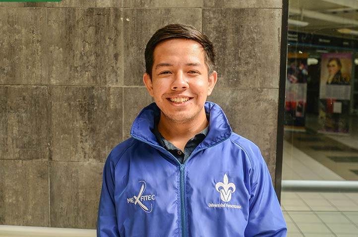 Daniel Antonio Maldonado Viveros, estudiante de Ingeniería Química