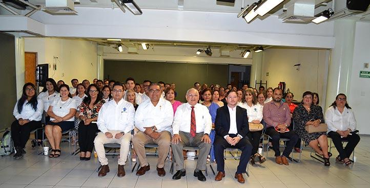 La sesión se celebró en la sala de videoconferencias de la USBI