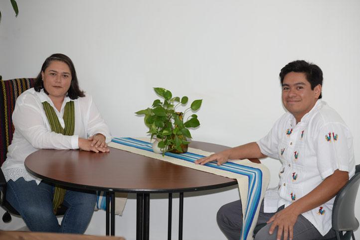 Lourdes Budar y Ariel Montalvo