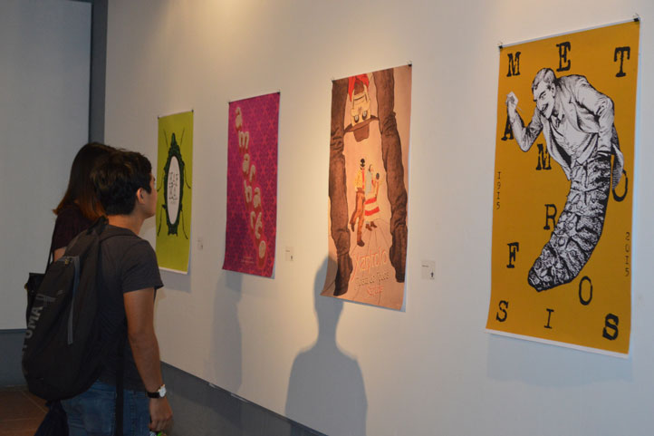 """Se inauguró la exposición """"Bienvenida"""", integrada por trabajos de estudiantes"""