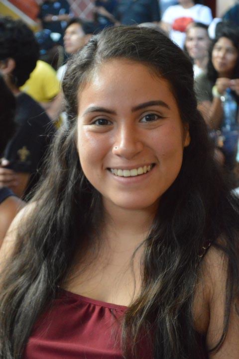 Karime Vázquez, estudiante de la Licenciatura en Danza Contemporánea