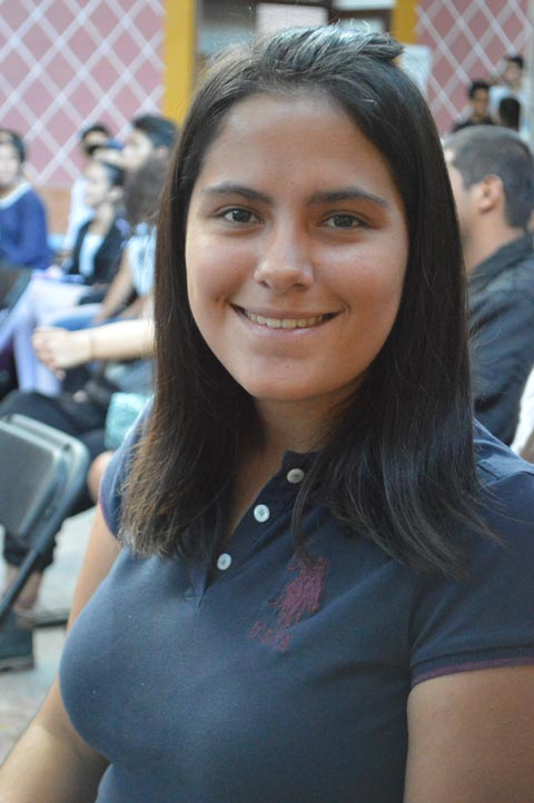 Carolina Maldonado, de la Facultad de Teatro