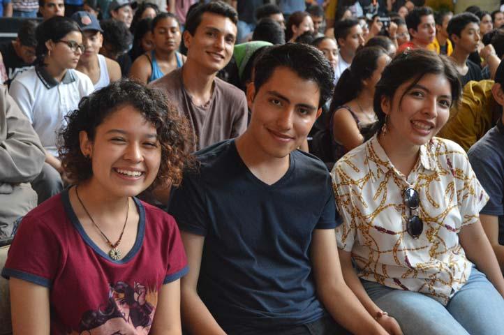 Anabel Gutiérrez, Alexis Rodríguez e Indira Santiago