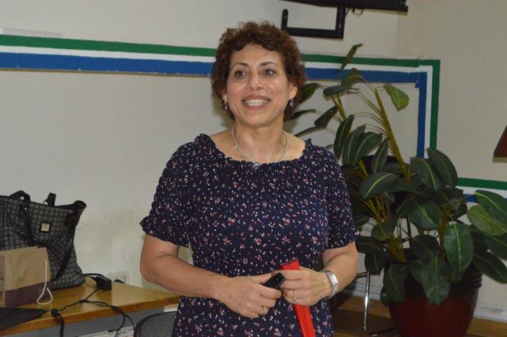 Araceli Reyes, coordinadora del curso