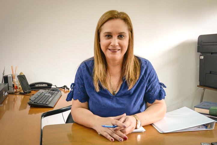 Maribel Barradas Landa, titular de la DADUV