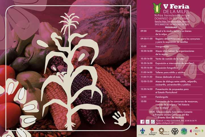 CoSustenta y Citro participarán en la V Feria de la Milpa
