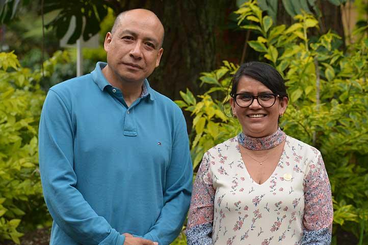 Juan Efraín Rojas y Argelia Sol-Haret Báez invitaron a la comunidad a participar en el EXF 2019