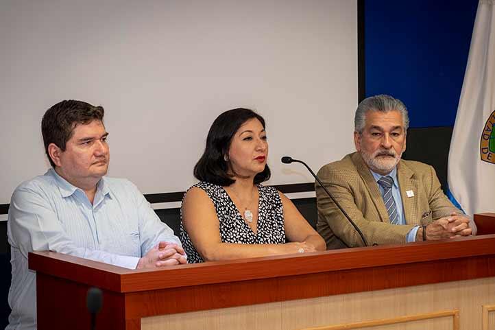 Alejandro de la Fuente, Bertha Ramírez y Alberto Reyes inauguraron el diplomado