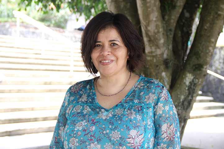 Bertha Irina Montes Galindo, académica de la Facultad de Ciencias Químicas