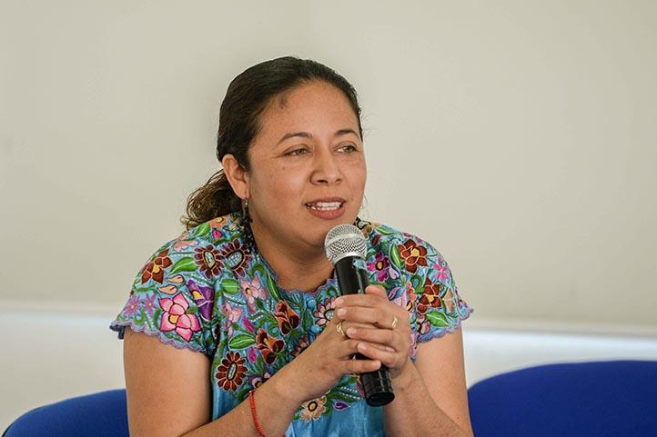 Jessica Badillo Guzmán, académica de la Facultad de Pedagogía de la UV