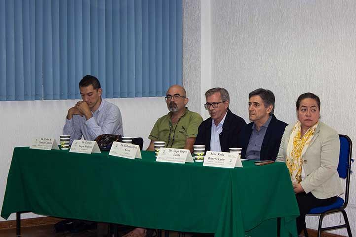 Carlos Cerdán, Enrique Vargas, Federico Del Cura, Ángel Trigos y Katia Romero