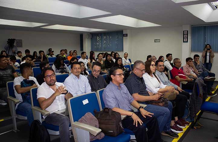 l evento asistieron estudiantes de las facultades de Ciencias Agrícolas, Geografía, así como de posgrado