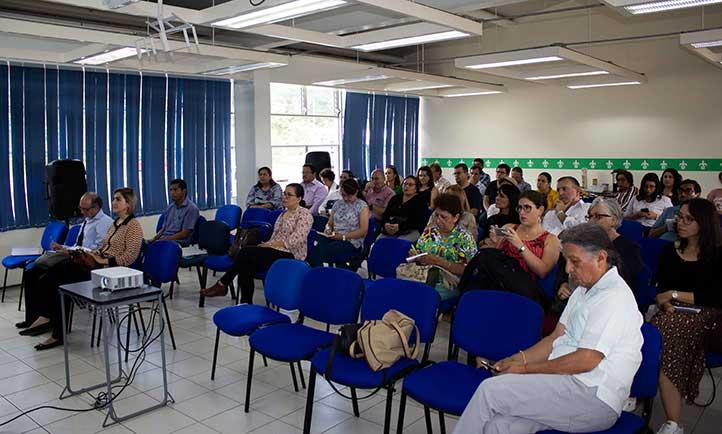 La actividad se desarrolló en la Facultad de Pedagogía