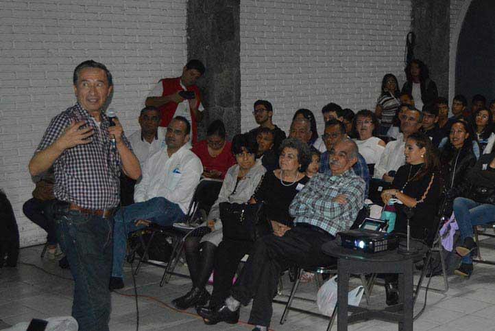 Tonatiuh Matos Chassin, presidente de la Sociedad Mexicana de Física