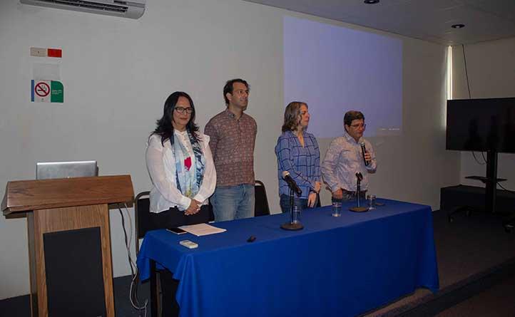 La inauguración del evento fue encabezada por Alvar González Christen