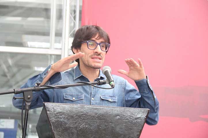 Franklin Ramírez, investigador de la Flacso sede Ecuador