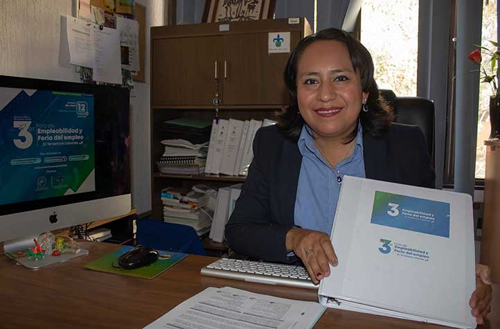 Araceli de Jesús Basurto, jefa de Departamento de Vinculación con el Sector Productivo para la Inserción Laboral