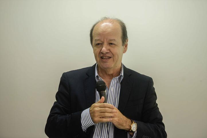 Alejandro Escobar Mesa, director de la CUSRS, habló sobre el papel que juega el químico clínico en la detección de enfermedades