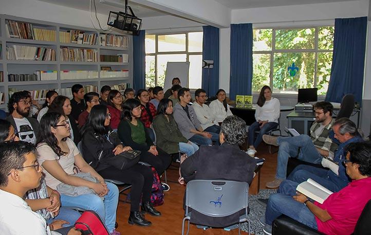 El evento se desarrolló en la Facultad de Letras Españolas