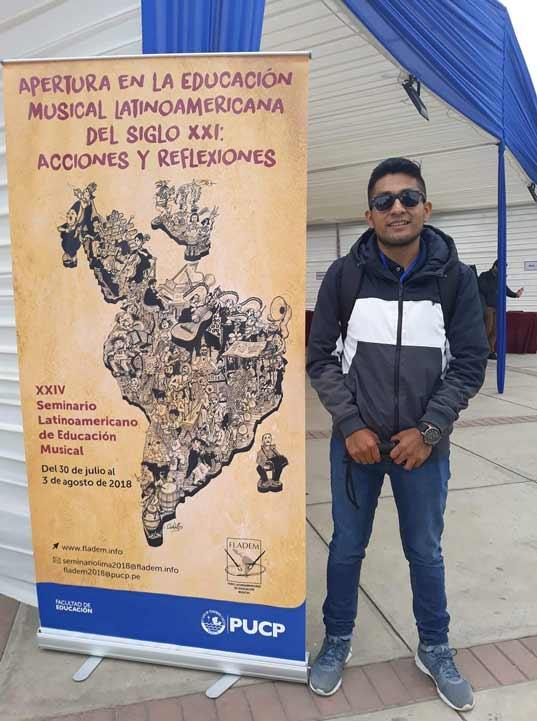 Abdiel Isaí Jiménez Hernández hizo una movilidad internacional en Perú