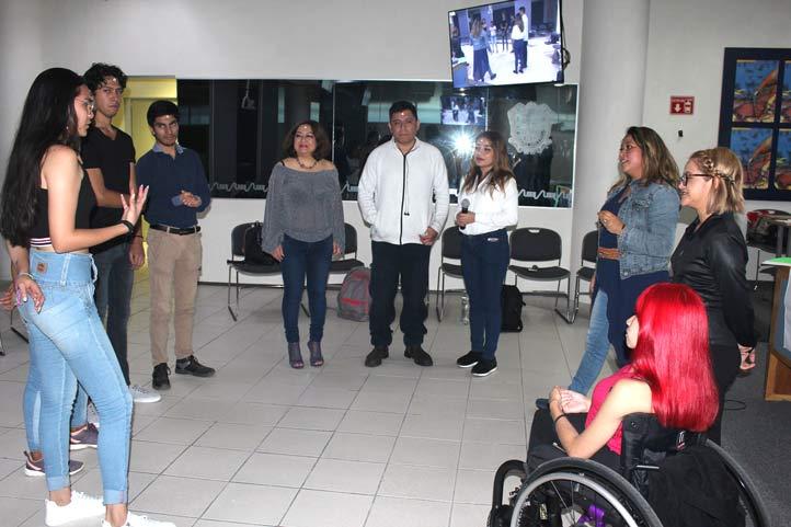 El conversatorio Tuvo lugar el 3 de diciembre, en la USBI Xalapa