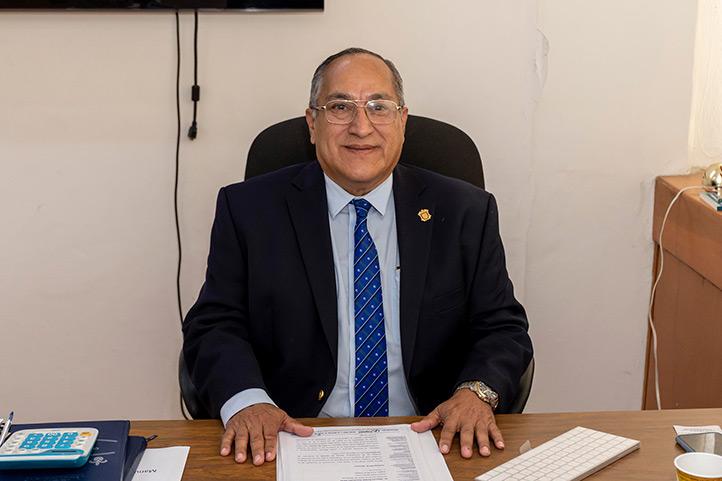 Pedro Gutiérrez Aguilar, director general del Área Académica de Ciencias de la Salud