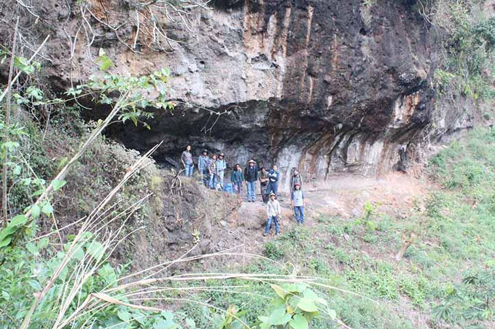 Estudiantes de la Universidad Veracruzana descubrieron arte rupestre