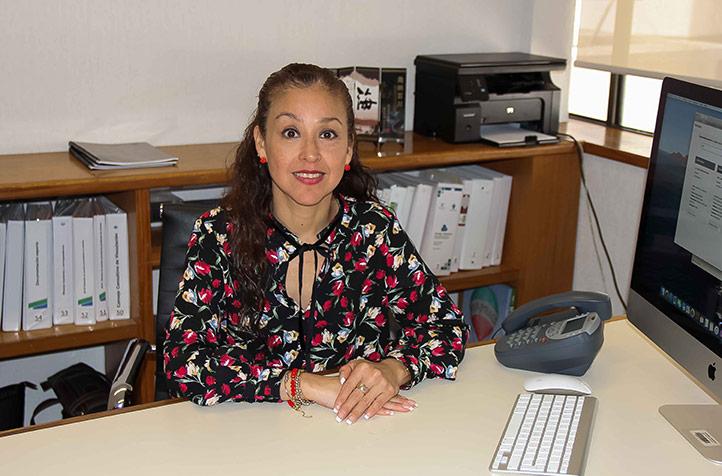 Patricia Arieta Melgarejo, titular de la Dirección General de Vinculación