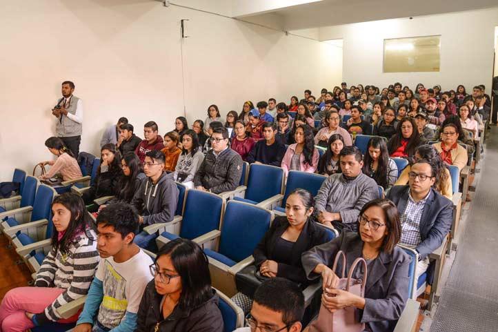 Estudiantes y académicos participaron en las actividades