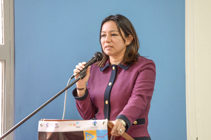 Mercedes Santoyo Domínguez, contralora general del Estado de Veracruz