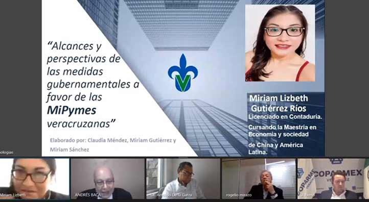 Miriam Gutiérrez afirmó que es fundamental el apoyo gubernamental para las Mipymes