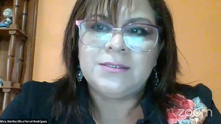 Martha Olivia Ferat Rodríguez, del Instituto de Estudios Superiores Valladolid