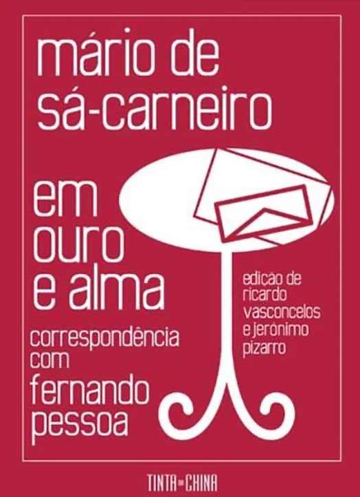 Cubierta del libro que, en portugués, reúne la correspondencia de Sá-Carneiro-Pessoa