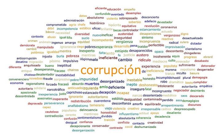 Resultados preliminares de la percepción ciudadana del gobierno en México con una muestra de 270 ciudadanos