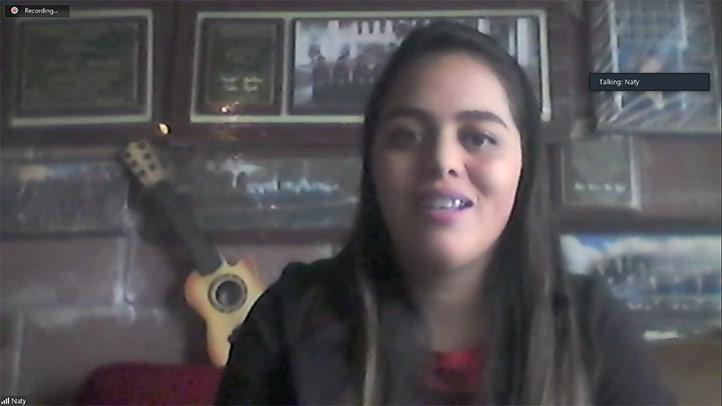 Natalia Andreina Falfán Trujillo, responsable del Área Jurídica de la Coordinación de la Unidad de Género de la UV