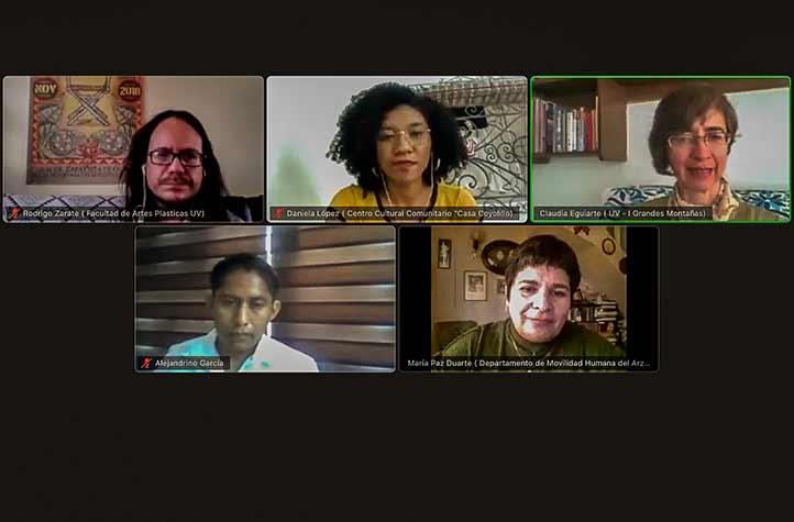 """Se realizó la primera sesión del Webinar """"Saberes y creatividad: experiencias desde y para la animación sociocultural"""""""