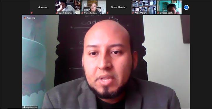 """Felipe Bustos González moderó la Mesa 2 """"Transformaciones espaciales y regionales"""""""