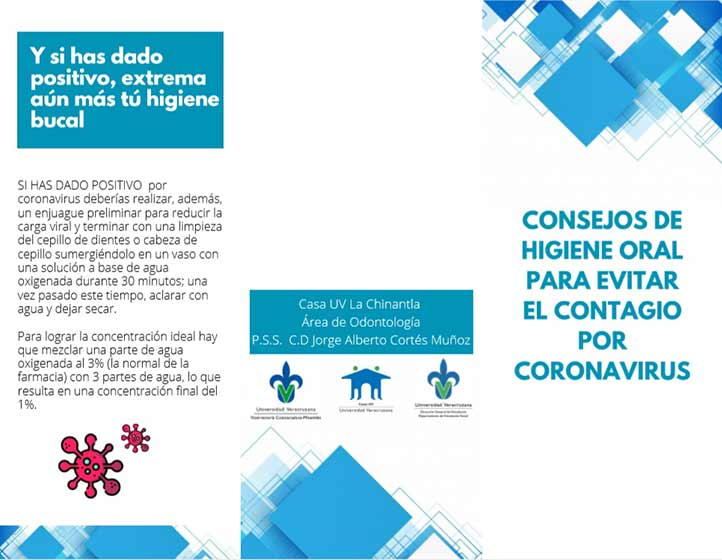 Videos, trípticos, manuales, cuadernillos sobre medidas preventivas acerca del Covid-19, se distribuyeron entre la población